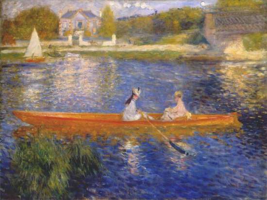 Pierre auguste renoir the armitage effect for Paintings by renoir