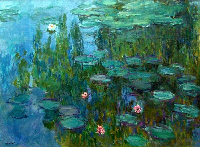 In a monet mood lights shadows the armitage effect for Claude monet impressionist paintings
