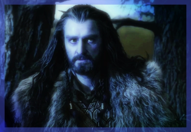 "Thorin of the ""flowing locks and steely gaze."""