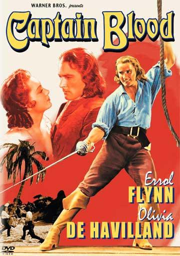 Movie poster for the 1935 film version of Sabatini's novel.