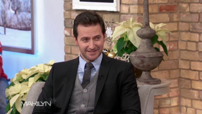 A screenshot of Richard from the Marilyn Denis Show. All screencaps courtesy of RANet.