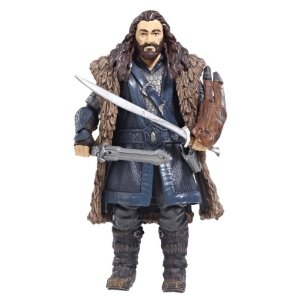 Little Thorin with his special vambrace on his sword arm.