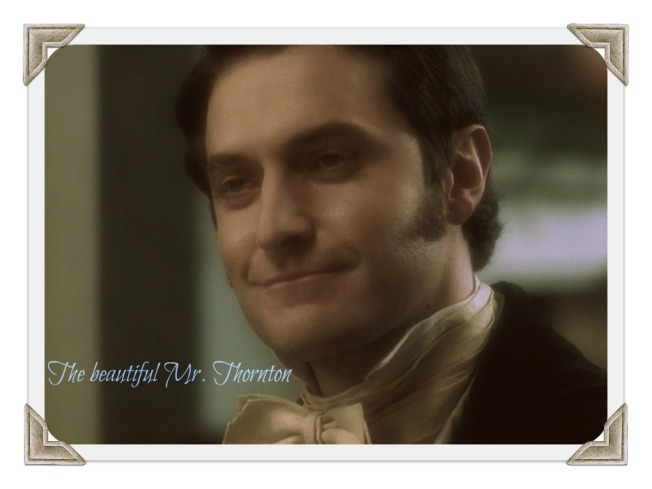 Mr. Thornton, you may brood beautifully, but those rare smiles are simply heaven-sent.