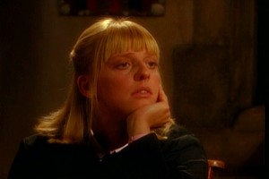 "Emma Chambers as Alice in ""The Vicar of Dibley."""
