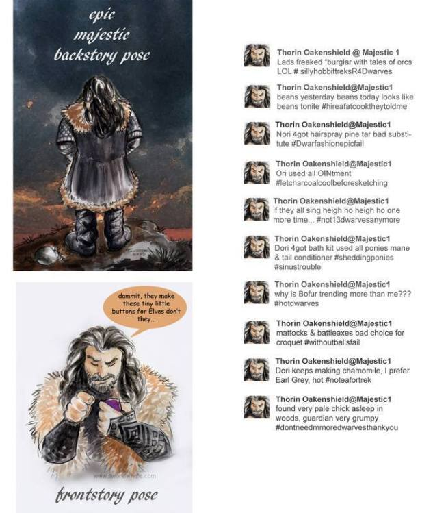 What if Thorin texted??