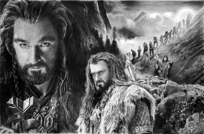 thorin_oakenshield_by_francoclun-d5wotvr