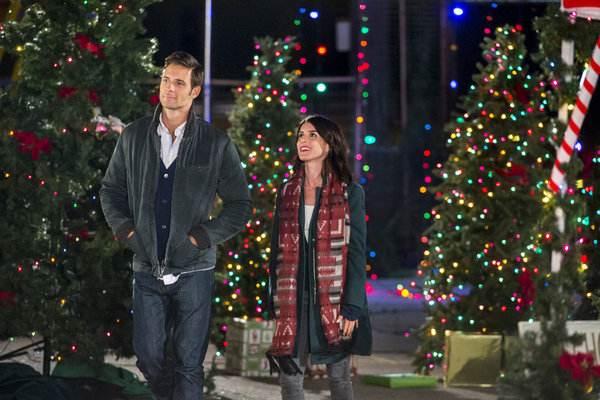 When Riley Vance is hired after a case of mistaken identity, she keeps the truth a secret so she can help her boss William Young save a town at risk of losing their main livelihood just before Christmas even as she gets closer to William. Photo: Steve Lund, Shenae Grimes-Beech Credit: Copyright 2015 Crown Media United States, LLC/Photographer: Ben Mark Holzberg