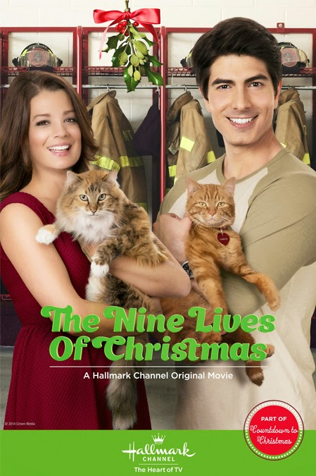 One of my favorite Hallmark holiday films is this one, and not just because it features some adorable felines.